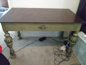 Refinished desk/ table for Sale in Salt Lake City, UT