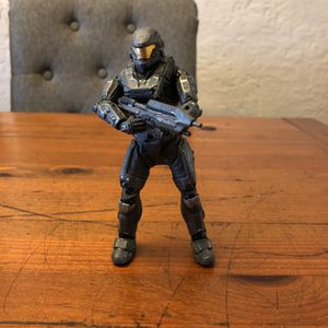 Halo McFarlane Toys grey Spartan action figure loose for Sale in Puyallup, WA
