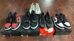 Nike Shoe Package (Jordans ans Elements) for Sale in Las Vegas, NV