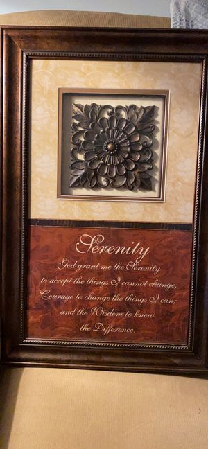 Serenity wall hanging for Sale in Milwaukie, OR