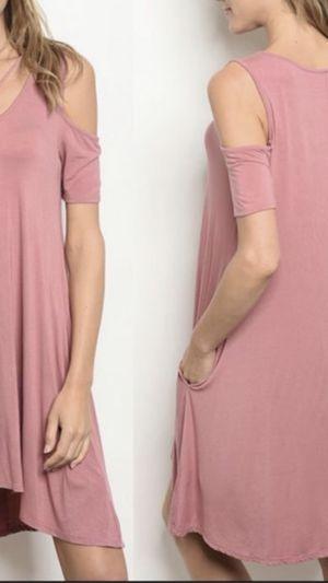 Pink Cold Shoulder Dress for Sale in Shelton, CT