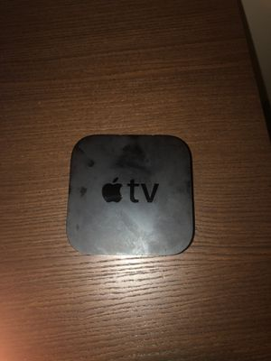 apple Tv/ with apple remote for Sale in Erial, NJ