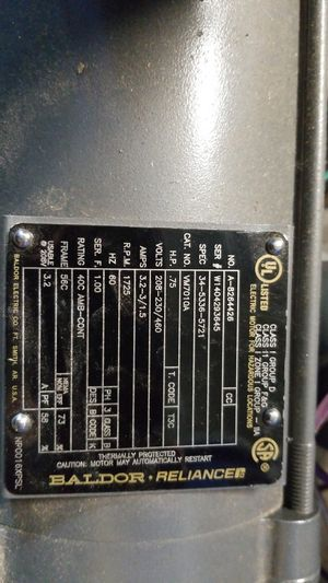 Baldor electric motor for Sale in Acworth, GA