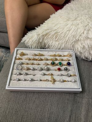 Assortment of stylish rings for Sale in Sugar Land, TX