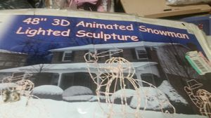 Animated snowman for Sale in NEW PRT RCHY, FL