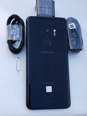 Samsung Galaxy S9 Plus 64GB Clean Unlocked Metro T-Mobile AT&T Cricket Sprint Boost Mobile Verizon Telcel Black for Sale in Monterey Park, CA