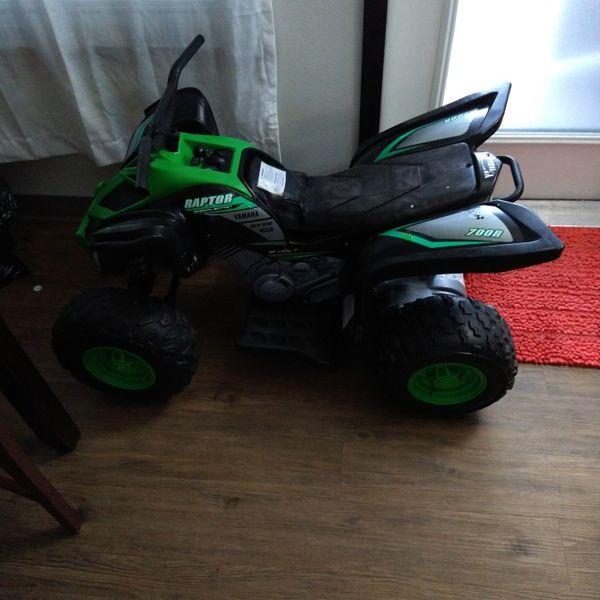 Yamaha Raptor 700R Motorized For Kids!!-- Pending Pickup
