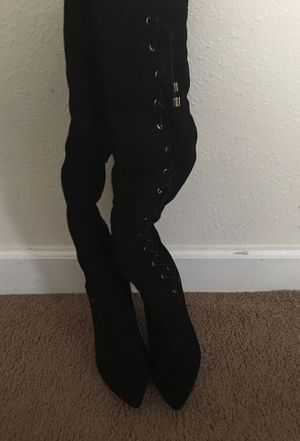 Mind thigh high boots for Sale in Abilene, TX