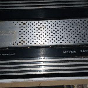 2400 Watt NT POWER 2 Channel Amplifier for Sale in Katy, TX