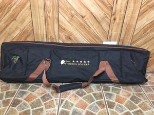 The Fishing Locker Fishing Rod Bag Carrier Black/Brown 10x45 for Sale in Elgin, IL