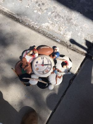 All sports wall clock free for Sale in Chula Vista, CA