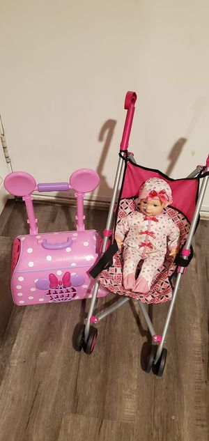 Stroller and baby for Sale in Livermore, CA