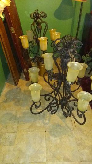 2 Chandelier lamp 100. for Sale in Houston, TX