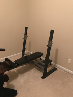 Weight lifting set for Sale in Atlanta, GA