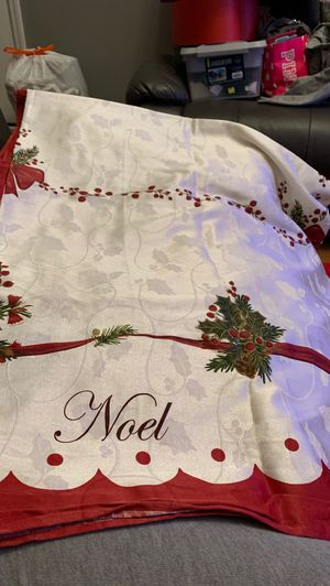 Christmas tablecloth for Sale in Mt. Juliet, TN