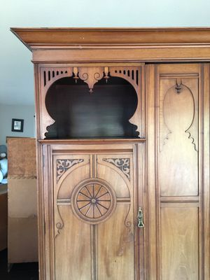 Antique English armoire for Sale in Edmonds, WA