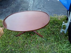 Upcycle oval table for Sale in Holiday, FL