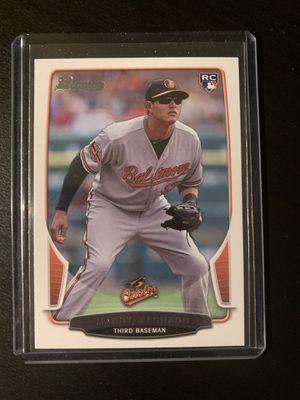 Manny Machado Rookie Baseball Card for Sale in San Leandro, CA