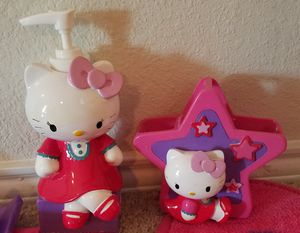 Hello Kitty bath and bed set for Sale in Royse City, TX