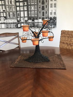 Halloween Spider Web Candle Tree for Sale in Arcadia, CA