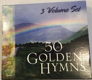 CD music, 50 Golden Hymns, 3 cd set for Sale in Virginia Beach, VA