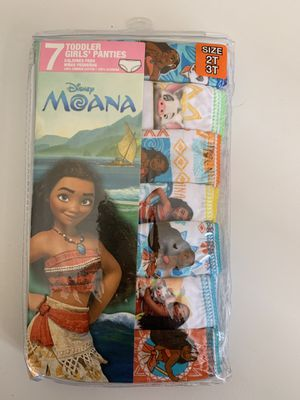 Brand new $5 underwear girl Moana for Sale in El Cajon, CA