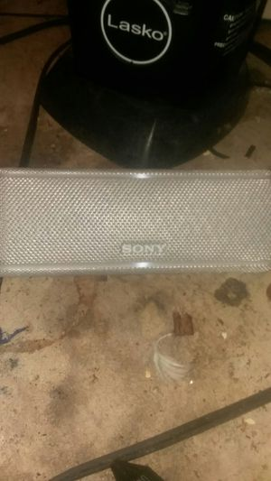 Sony Bluetooth speaker perfect condition with charger portable charging bank angle carrying case for Sale in North Royalton, OH