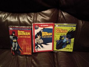 The Batman DC Comics collection 3 seasons on DVD for Sale in Little Ferry, NJ