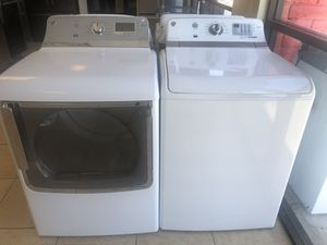 Ge set Washer and dryer electric high capacity for Sale in Phoenix, AZ