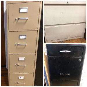 3 Metal file cabinets for Sale in East Haven, CT