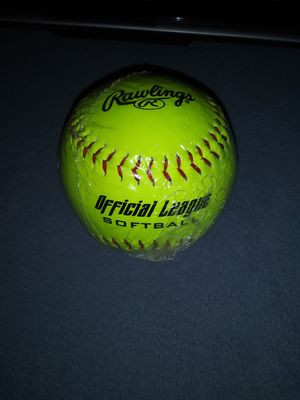 Rawlings Official League Softball for Sale in Cashmere, WA