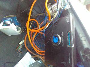 4,000 Watts AMP KIT for Sale in Detroit, MI