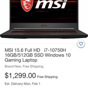 MSI Computer for Sale in Seattle, WA