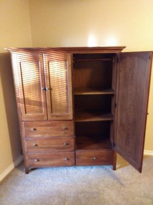 Beautiful wood armoire for Sale in Plano, TX