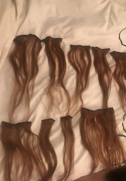 *2 SETS* light brown hair extensions for Sale in Bell Buckle,  TN