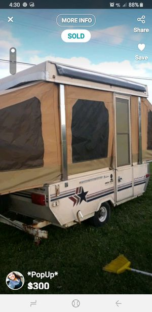 Pop up camper for Sale in Monroe, MI