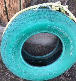 Children's Tire Swing Outdoor Toy for Sale in Visalia, CA