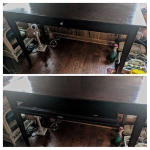 Dark walnut desk for Sale in Fitzgerald, GA