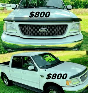Price $800.00 2002 Ford F-150 XLT 4dr SuperCrew 4WD for Sale in Birmingham, AL