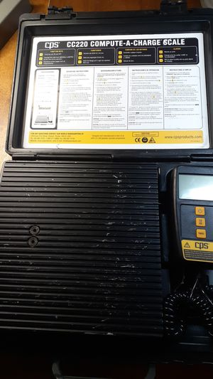 CPS cc220 compute a charge scale for Sale in Bakersfield, CA