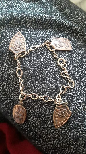 4H CHARM BRACELET ON GOLD CHAIN for Sale in Colorado Springs, CO