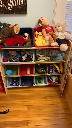 Toy storage bin organizer for Sale in Verona, NJ
