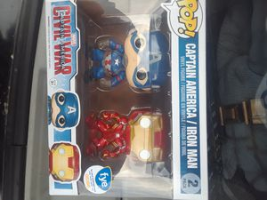Captain America civil war pop set for Sale in Columbus, OH