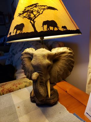 Elephant lamp for Sale in Marysville, OH