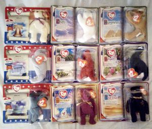McDonald's Beanie Babies(1999) Lot of nine (Rare) for Sale in Hemet, CA