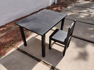 Kids IKEA table and chair for Sale in San Diego, CA
