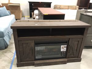 Madison Snow Ash Infrared Quartz Electric Fireplace for Sale in Lithia Springs, GA