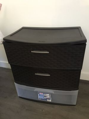 Plastic drawer for Sale in Tustin, CA