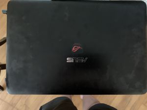 ASUS Gaming Laptop (Republic of Gamers) (video card included) WITH wireless Logitech gaming mouse - used for Sale in Dearborn Heights, MI