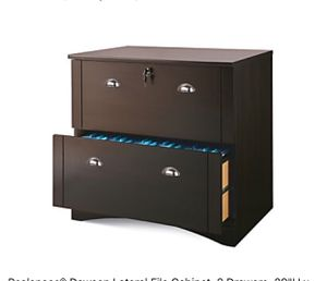 Available in alexstrade. Com Realspace Dawson 2-Drawer Lateral File Cabinet, Brushed Maple for Sale in Holly Springs, NC